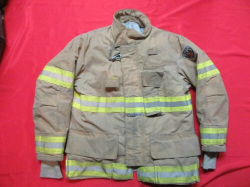 MFG 2010 42 x 35 Fire-Dex DRD EQUIPPED Turnout Coat Fire Jacket FIREFIGHTER