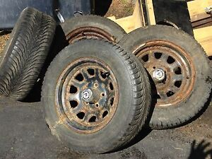 S-10 , S-15, Sonoma, blazer and jimmy American Racing steel rims