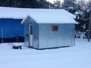 Ice hut rental