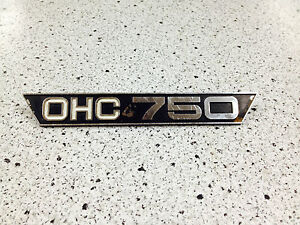 Yamaha-TX-750-1973-74-Left-Oil-Tank-Emblem-Badge-OHC-750