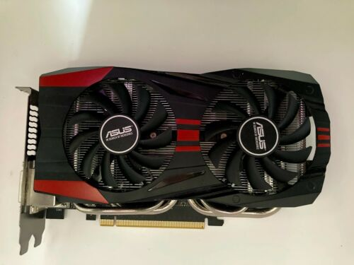 ASUS GeForce GTX 760, 2GB GDDR5. PCI Express Graphics Card (GTX760-DC2OC-2GD5)