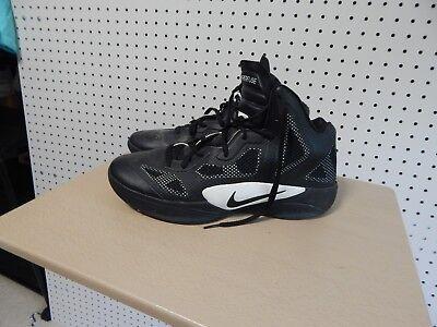892211d253e Men s Nike Zoom Hyperfuse Basketball Shoe 454146-001 Sz 13 Black White EUC