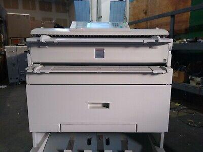 Ricoh Aficio Mp W3601 Wide Format Monochrome Copierprinterscanner 5923 Meter