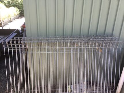 Galvanised gates and fencing