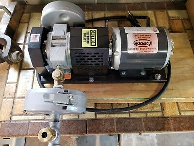 Conde Rotary Vane Positive Displacement Dry-air Pump