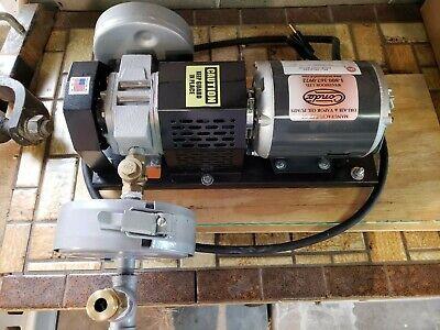 Dry Air Pump Conde Rotary Vane Positive Displacement Pump