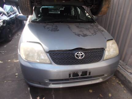 Toyota Corolla 2004 is now WRECKING!