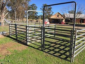 PORTABLE FENCING PANELS - suit Horses / Alpaca / Cattle / Goats Oakville Hawkesbury Area Preview