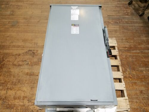Square D H365NR Fusible Disconnect Safety Switch 400 Amp 3x FLSR 350 CAN SHIP
