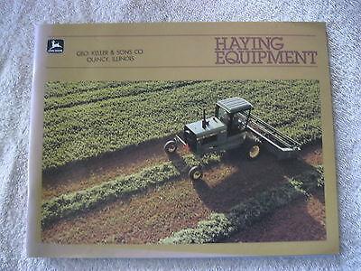 1984 John Deere Haying Equipmentbalerswindrowershaybines 56 Page Brochure