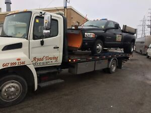 Tow truck //// flatbed