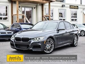 2013 BMW 3 Series 335i xDrive M SPORT 6 SPEED LEATHER ROOF WOW!!