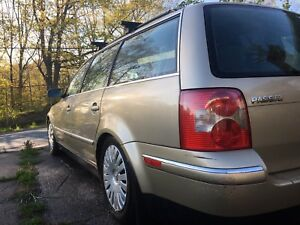 2001.5 Passat Wagon, V6 5speed 2WD RARE COMBO ***MUST GO***