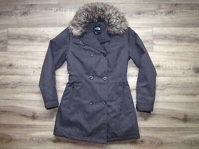 5b010f3f39 The North Face Boulevard Insulated Women s Jacket XS RRP£260 Parka Coat  Arctic