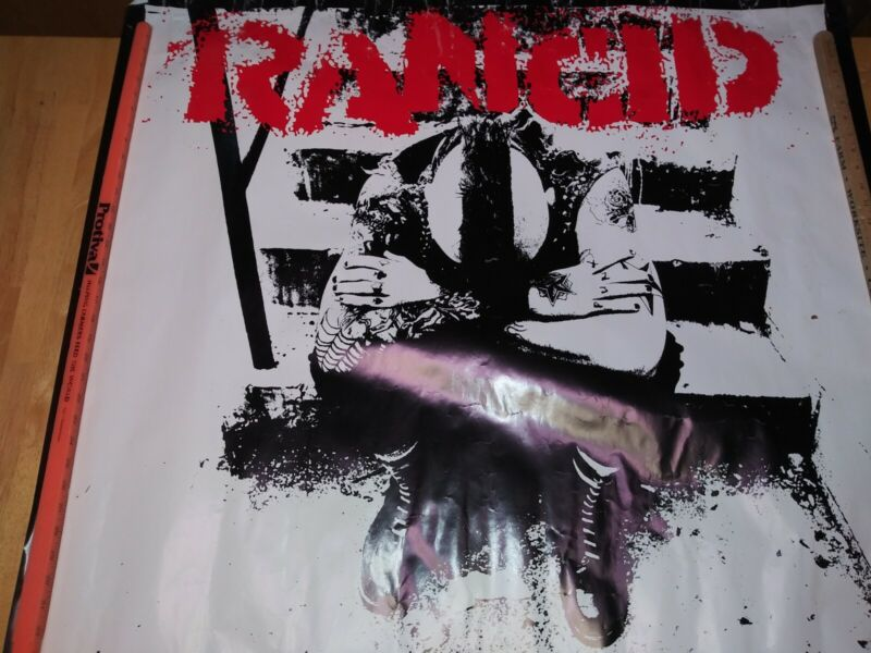 Rancid, And Out Come The Wolves, 41×41 Square Promo Poster