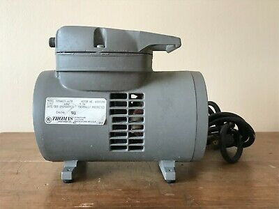 Thomas 905aa23-663b Compressor Vacuum Pump 115v 60hz 3.3a