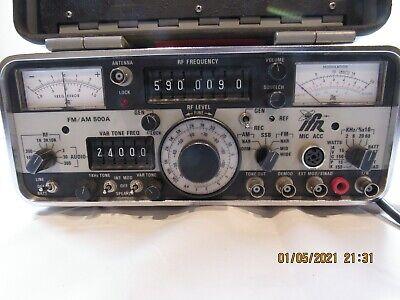 Ifr Fmam 500a Radio Communications Service Monitor Sn 4224