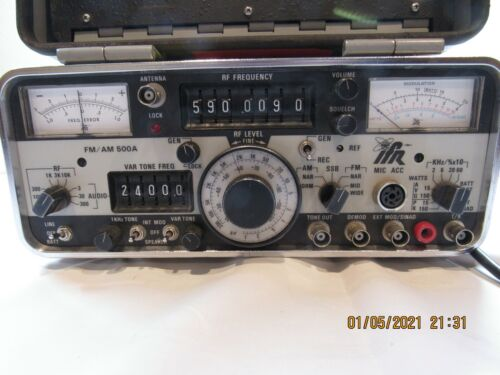 IFR FM/AM 500A Radio Communications Service Monitor S/N 4224