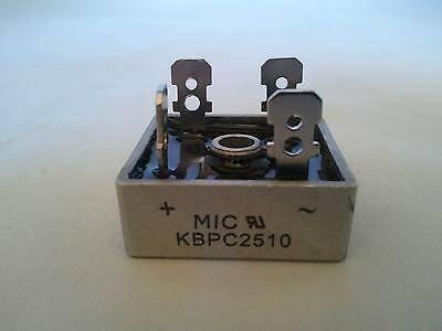 1 Pc - Kbpc2510 Kbpc-2510 25a 1000v Bridge Rectifier