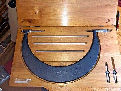 Scherr Tumico Outside Micrometer 9-12