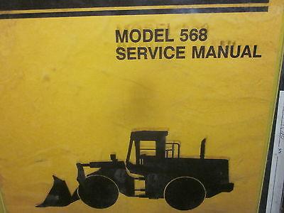 Dresser 568 Wheel Loader Service Manual