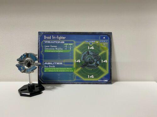 Star Wars Miniatures: Starship Battles Droid Tri-Fighter #48
