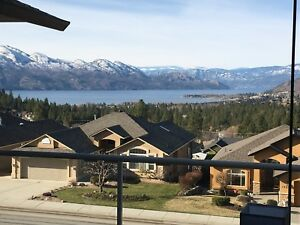 Executive upper level lake view 3 bedrooms West Kelowna