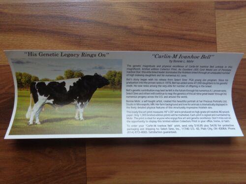 (6) Holstein Sire Sumaries RED BOOK  world magazines Bonnie Mohr