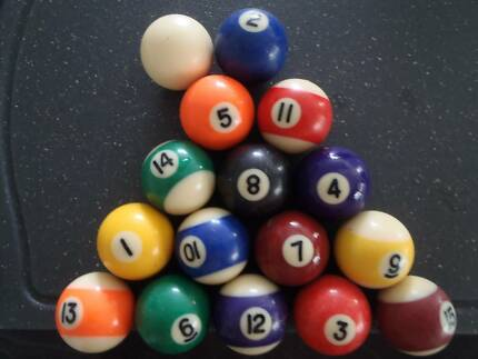 Pool Balls - Set of MINI balls from MINI Pool Table