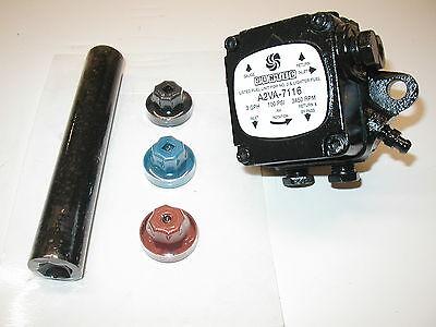 Suntec Oil Burner Pump A2VA-7116 , ONE YEAR WARRANTY! includes New Coupling Kit