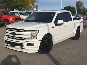 2018 Ford F-150 Lariat  SuperCrew 5.5-ft. Bed 4WD Custom