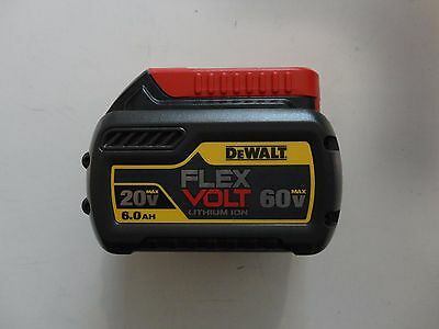 DEWALT DCB606 20V 60V MAX FlEXVOLT Lithium ion 6.0 AH Battery Pak New DCB606B