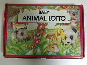 Baby Animal Lotto Bellevue Heights Mitcham Area Preview