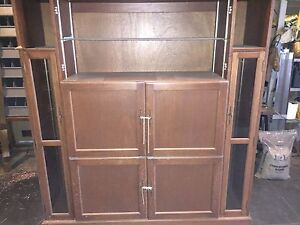 Solid cherrywood cabinet