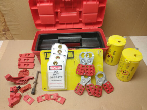 commercial lockout tagout station & kit