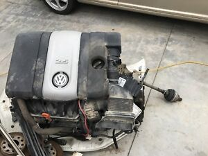 2008 Volkswagen Jetta 2.5 ENGINE & TRANSMISSION AUTOMATIC