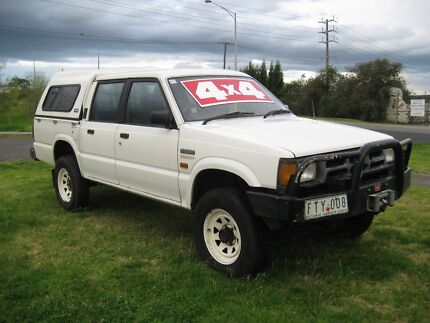 Mazda Bravo Dual Cab 4x4 Manual Electric Winch Fawkner Moreland Area Preview