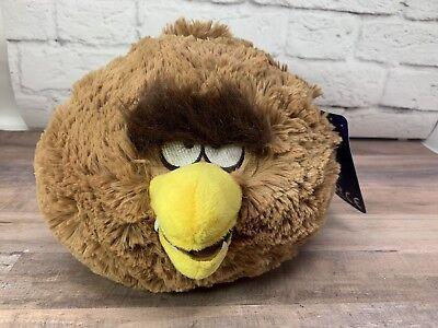 """Angry Birds Star Wars 8"""" Bird - Chewbacca Plush Toy - New w/ Tags"""