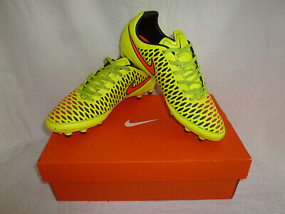 Nike Magista Onda Football Boots Neon Yellow / Red/ Black ~ UK SIZE 7