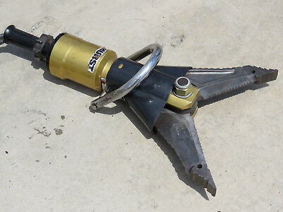 Hurstjaws Of Life Xtractor Spreader Cutter Tool Rescue Tool Gold