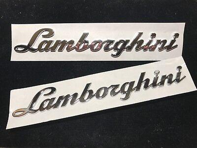Lamborghini Huracan Gallardo Murcielago Logo Rear Script Emblem Badge 4T0853742