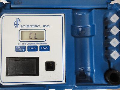 Hf Scientific Cp-15b Chlorine Photometer Water Purification Measure Instrument