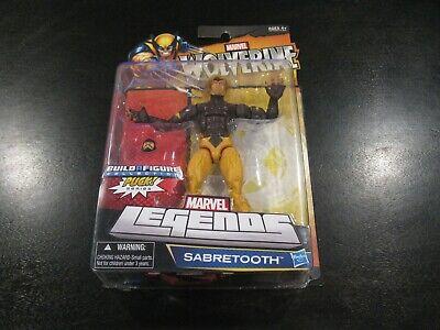 """2012 Hasbro Marvel Legends PUCK BAF Series SABRETOOTH 6"""" Figure DAMAGED PACKAGE"""