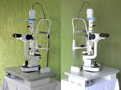 Biomicroscope 3 Step Magnification Slit Lamp Ophthalmology Optometry Equipment