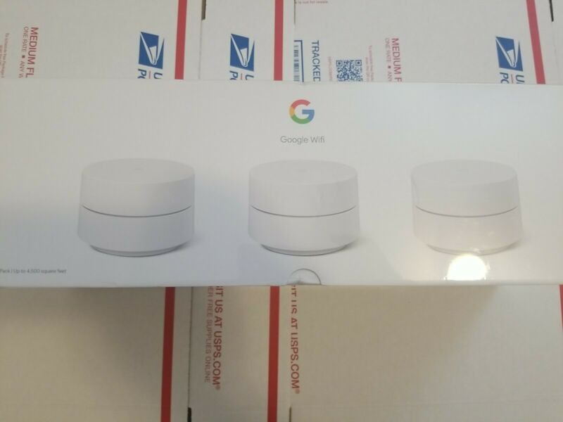 Google Wifi - Whole Home Dual-Band  Mesh Wi-Fi System 3 Pack 👩💻👨🏿💻❗❗FAST❗