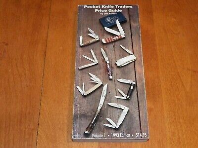 POCKET KNIFE TRADERS PRICE GUIDE Vol 1 1993 CASE BULLDOG Knives Rare Parker Book
