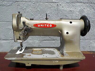 Industrial Sewing Machine Model United 111w155 Single Walking Foot- Leather