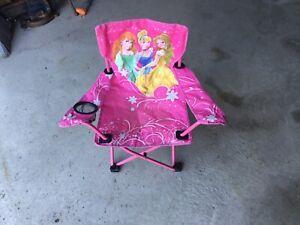 Chaise de camping comme neuve