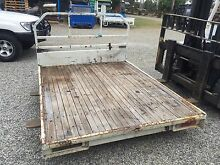 Toyota Land Cruiser ute steel tray wooden floor Bundamba Ipswich City Preview