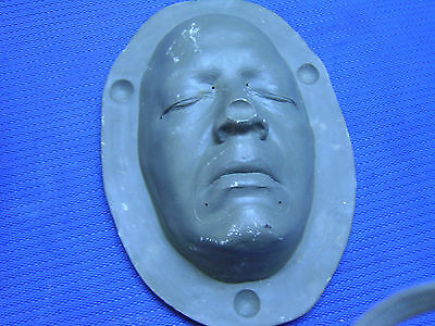 Lifesize  Movie prop face mold mask special effects injection holloween - Holloween Props